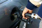 Fill up of gasoline — Foto Stock