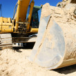 Stock Photo: Loader excavator