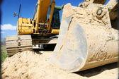 装载机挖掘机 — 图库照片