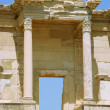 Columns Celsus Library -  Ancient Ephsus Turkey - Stock Photo