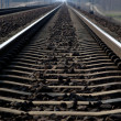 Rail Road Tracks - electrical — Stock Photo #18166027