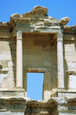 Columns Celsus Library - Ancient Ephsus Turkey — Stock Photo