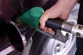 Fill up of gasoline — Stock Photo