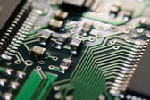 Electronic detail close up — Stock Photo