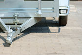 Trailer tow bar — Stock Photo