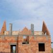 Construction of a home building. — Stock Photo #19683553