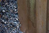 куча стружка от свалке — Стоковое фото