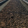 Rail Road Tracks - electrical — Stock Photo #21646731