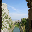 Krak des Chevaliers, crusaders fortress, Syria — Stock Photo #21646987
