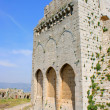 Krak des Chevaliers, crusaders fortress, Syria — Stock Photo
