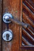 Old door knob — Stock Photo