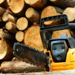 Royalty-Free Stock Photo: Chainsaw for heavy wood cutting