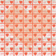 Pictures on valentines day wallpaper — Stock Photo