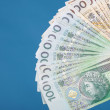 Royalty-Free Stock Photo: Money polish banknote