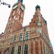 City hall of old town in Gdansk - Poland — Stock Photo