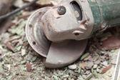 Grinder steen het elektrisch gereedschap — Stockfoto