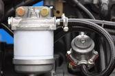 Diesel engine detail — Stock Photo