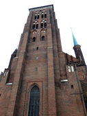 聖マリア大聖堂煉瓦教会ポーランド グダニスク — ストック写真