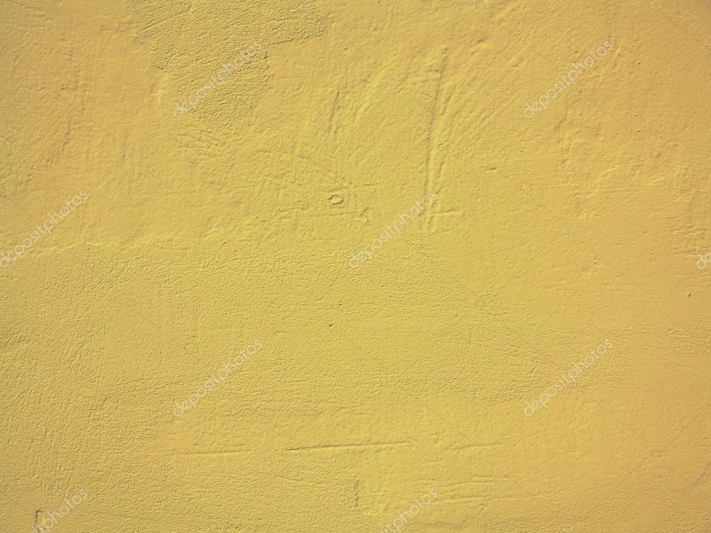 Télécharger - Fond de mur de peinture jaune ou texture — Image ...