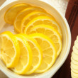 lemon slices — Stock Photo