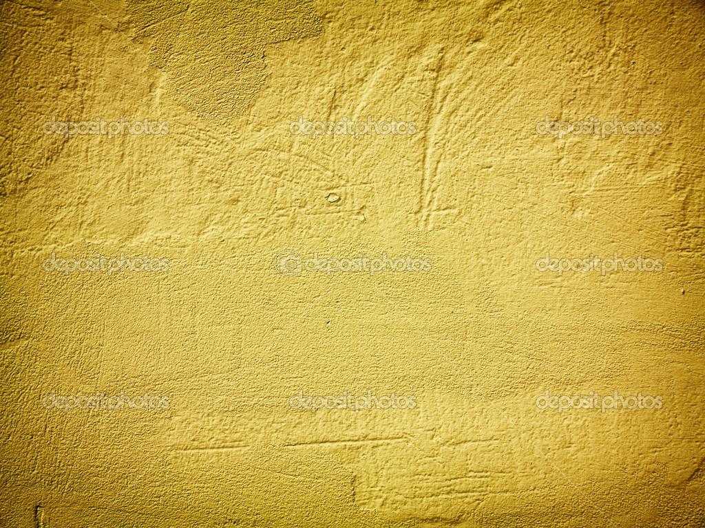 Yellow wall