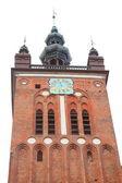 Igreja de santa catarina em gdansk, polónia — Foto Stock