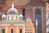 Royal Chapel and St. Mary's Basilica Gdansk Poland — Stock Photo