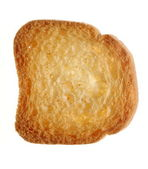 Rusk bread loaf toast biscuit, diet food — Stock Photo