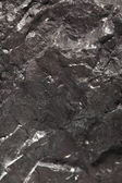 Black bituminous coal, carbon nugget background — Stock Photo