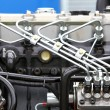 Diesel engine detail — Stock Photo