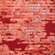 Background of grunge red brick wall texture — Stock Photo