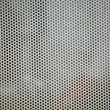 Gray metal grid industrial background — Stock Photo
