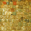 Background of old brick stone wall texture — Stock Photo