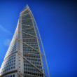 Malmo, Sweden city with famous Turning Torso. — Stock Photo #30920303