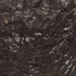 Stock Photo: Black bituminous coal, carbon nugget background
