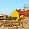 houses on christiansoe island bornholm denmark — Stock Photo
