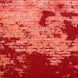 Background of grunge red brick wall texture — Stock Photo #32038235