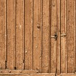 Old brown doors wood background texture — Stock Photo