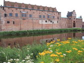 MALMO, SWEDEN historic castle on August 7, 2013 — Stock Photo