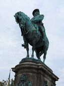 MALMO, Sweden: Monument of King Karl X Gustav — Stock Photo