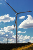 Wind turbine power generator renewable energy production — Stock Photo
