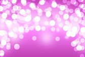 Pink bokeh abstract light background — Stock Photo