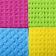 Colorful sponge foam as background texture — Stock Photo #33671749