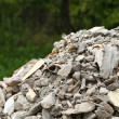 Full construction waste debris rubble bags — Stock Photo #33735279