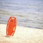 Lifeguard beach rescue equipment — Stock Photo