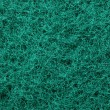 Green abrasive sponge texture background — Stock Photo