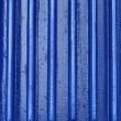 Blue metal industrial background — Stock Photo #37688739