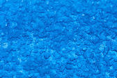 Macro melt snow blue background texture. Winter. — 图库照片