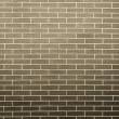 Brown brick wall as background or texture — Stock Photo