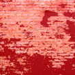 Background of grunge red brick wall texture — Stock Photo #39597199
